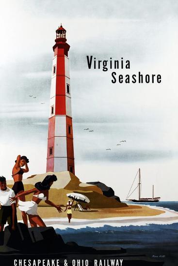 Virginia Seashore-Bern Hill-Giclee Print