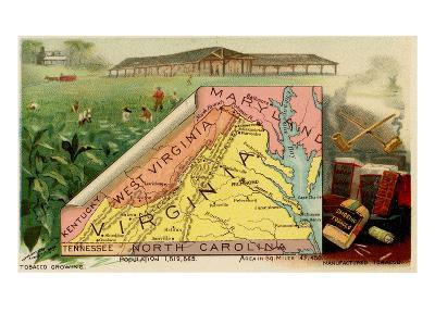 Virginia-Arbuckle Brothers-Art Print