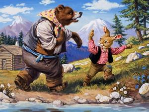 Brer Rabbit, from 'Once Upon a Time' by Virginio Livraghi