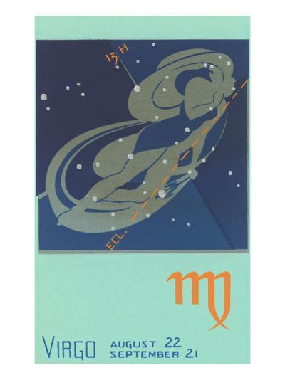 Virgo, the Maiden--Art Print