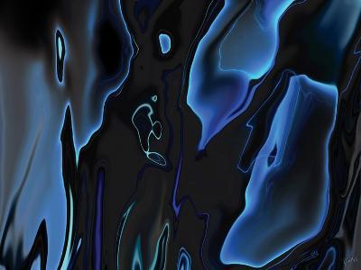 Virtual Life 1-Rabi Khan-Art Print