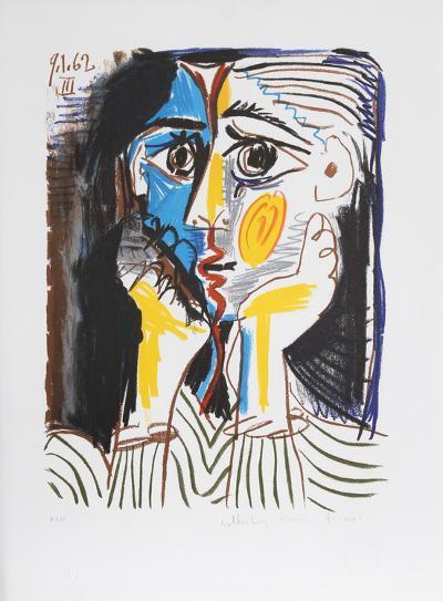 Visage, 39-4-Pablo Picasso-Premium Edition