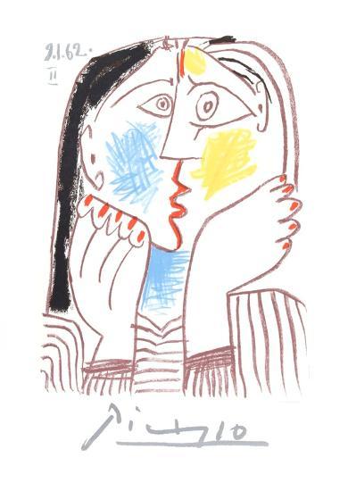 Visage-Pablo Picasso-Collectable Print