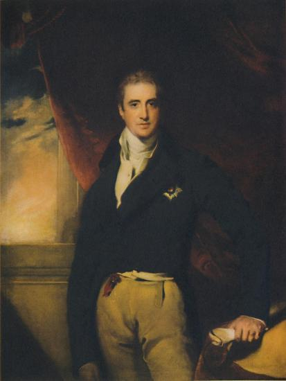 Viscount Castlereagh, early 1800s, (1941)-Unknown-Giclee Print