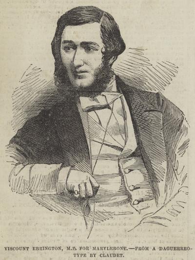 Viscount Ebrington, Mp for Marylebone--Giclee Print