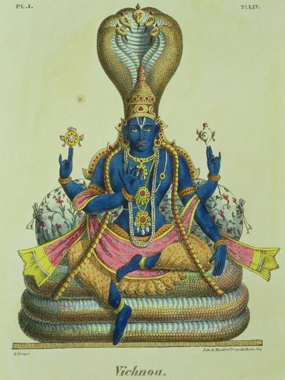 Vishnu-A^ Geringer-Giclee Print