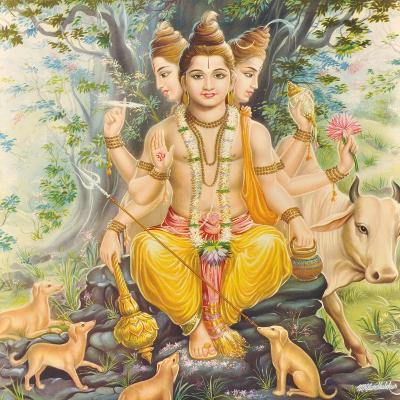 Vishnu--Giclee Print