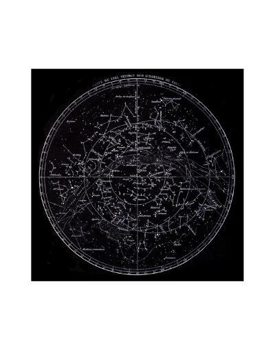 Visible Stars, French, 19th C.--Art Print