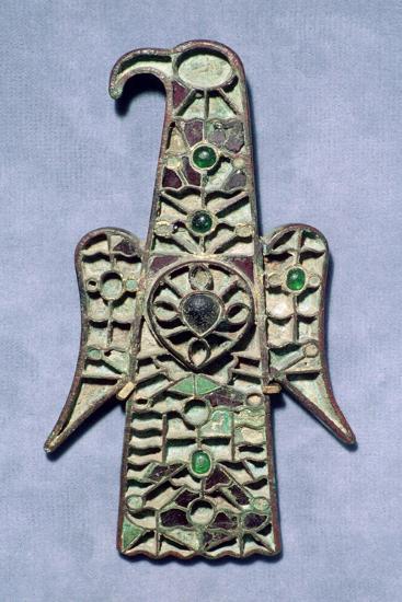 Visigothic Aquliiform Fibula. Artist: Unknown-Unknown-Giclee Print