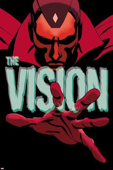Vision #1 Cover-Marcos Martin-Art Print