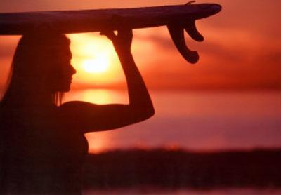 Vision: Female Surfer