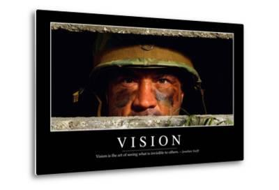 Vision: Inspirational Quote and Motivational Poster