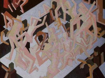 Vision of Ezekiel-David Bomberg-Giclee Print