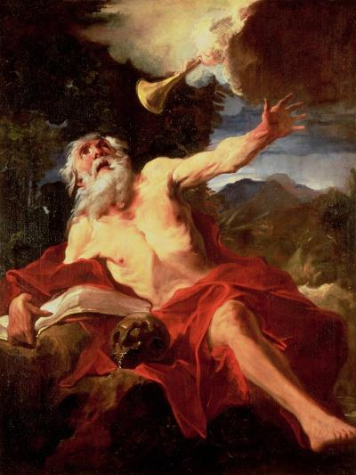 Vision of St. Jerome-Pierre Louis Cretey Or Cretet-Giclee Print