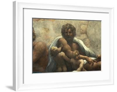 Vision of St John Evangelist on Patmos--Framed Giclee Print