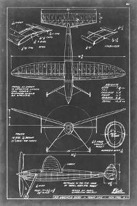 Aeronautic Blueprint III by Vision Studio