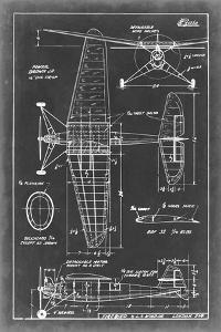 Aeronautic Blueprint IV by Vision Studio
