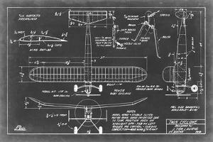 Aeronautic Blueprint VII by Vision Studio