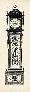 Antique Grandfather Clock I by Vision Studio