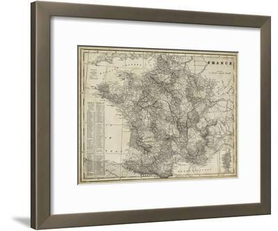 Antique Map of France