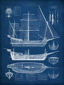 Blueprints posters and prints at art antique ship blueprint ivision studio art print malvernweather Gallery
