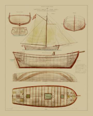Antique Ship Plan III