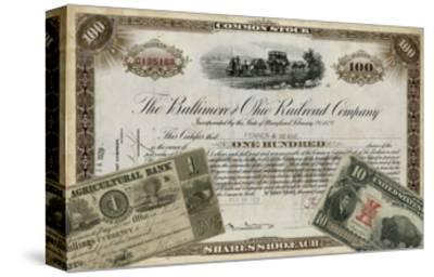 Antique Stock Certificate III