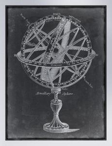 Armillary Sphere on Charcoal I by Vision Studio