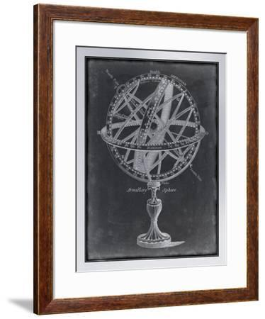 Armillary Sphere on Charcoal I