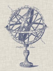 Armillary Sphere on Linen I by Vision Studio