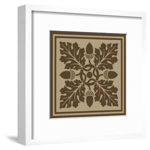 Arts and Crafts Woodblock I by Vision Studio