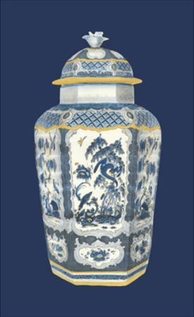 Asian Urn in Blue and White II