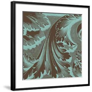 Azure Acanthus I by Vision Studio