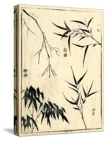 Bamboo Woodblock I