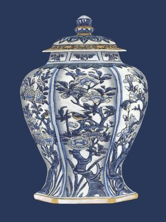 Blue and White Porcelain Vase I by Vision Studio