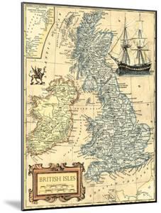 British Isles Map by Vision Studio