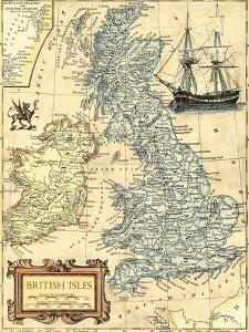 British Isles Map by Vision Studio