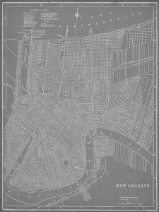 City Map of New Orleans by Vision Studio