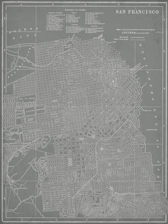 City Map of San Francisco by Vision Studio