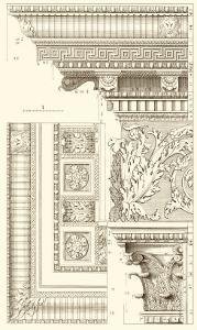 Corinthian Detail VI by Vision Studio