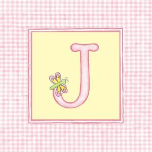 Girl Letter J by Vision Studio