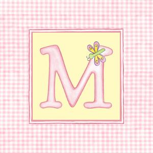 Girl Letter M by Vision Studio