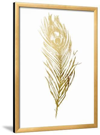 Gold Foil Feather II