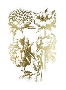 Gold Foil Floral Chintz II by Vision Studio
