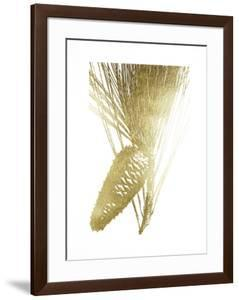 Gold Foil Pine Cones II by Vision Studio