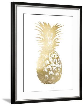 Gold Foil Pineapple I