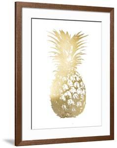 Gold Foil Pineapple I by Vision Studio