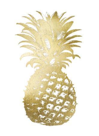 Gold Foil Pineapple II
