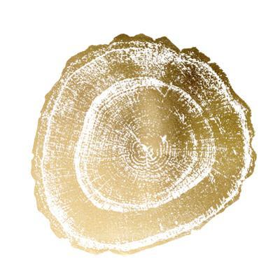 Gold Foil Tree Ring III