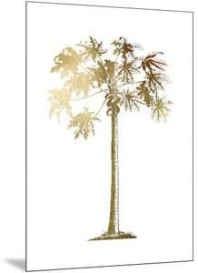 Gold Foil Tropical Palm I by Vision Studio